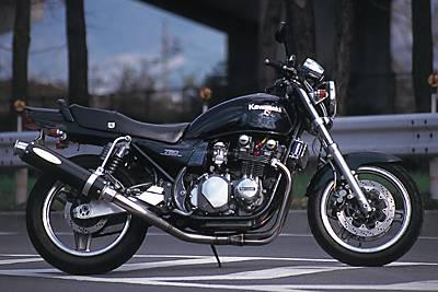 ZEPHYR750 ワンガンZ フルエキゾースト