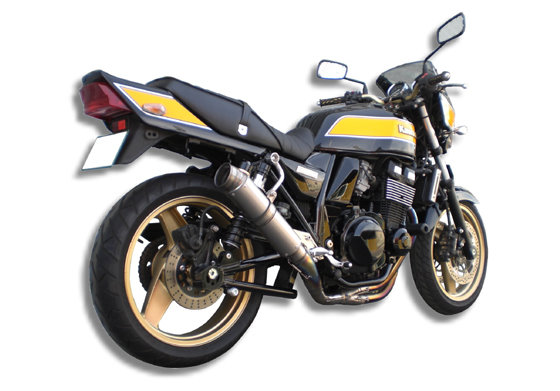 ZRX400 GP Formulaサイレンサー アップタイプ(バックステップ装着車用)