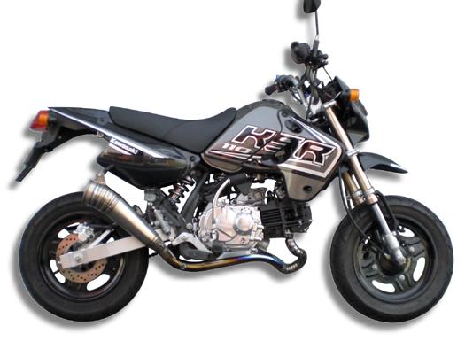 KSR110 フルチタンレーシングEX