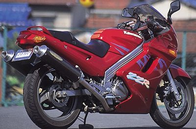 ZZ-R250 ワンガンスペシャル スリップオンマフラー