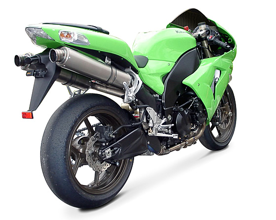 '06-'07 ZX-10R ボルトオンサイレンサー