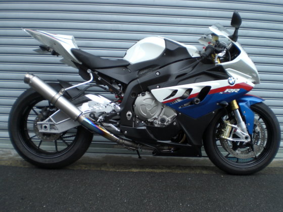 BMW '10-'14 S1000RR RACING SPEC フルチタンEX