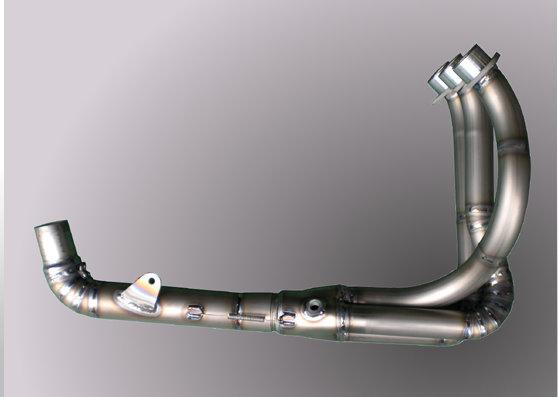 Triumph Daytona675Triple ノーマル対応 チタンエキゾーストパイプ