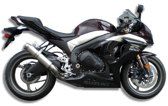 '09- '11GSX-R1000 GPフォーミュラースリップオン 一本出し(86φ×300mm)