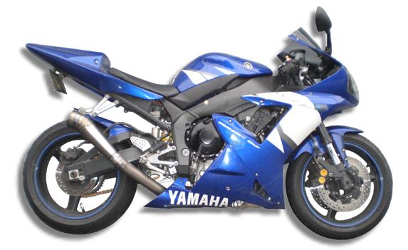 '02-'03 YZF-R1 GPスタイル メガフォンスリップオン