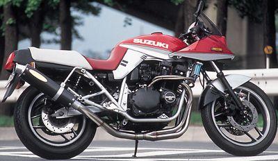 GSX1100/750S KATANA ワンガンスペシャル フルエキゾースト