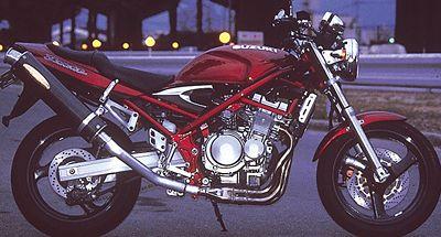 BANDIT400('95,'96) ワンガンスペシャル スリップオンマフラー