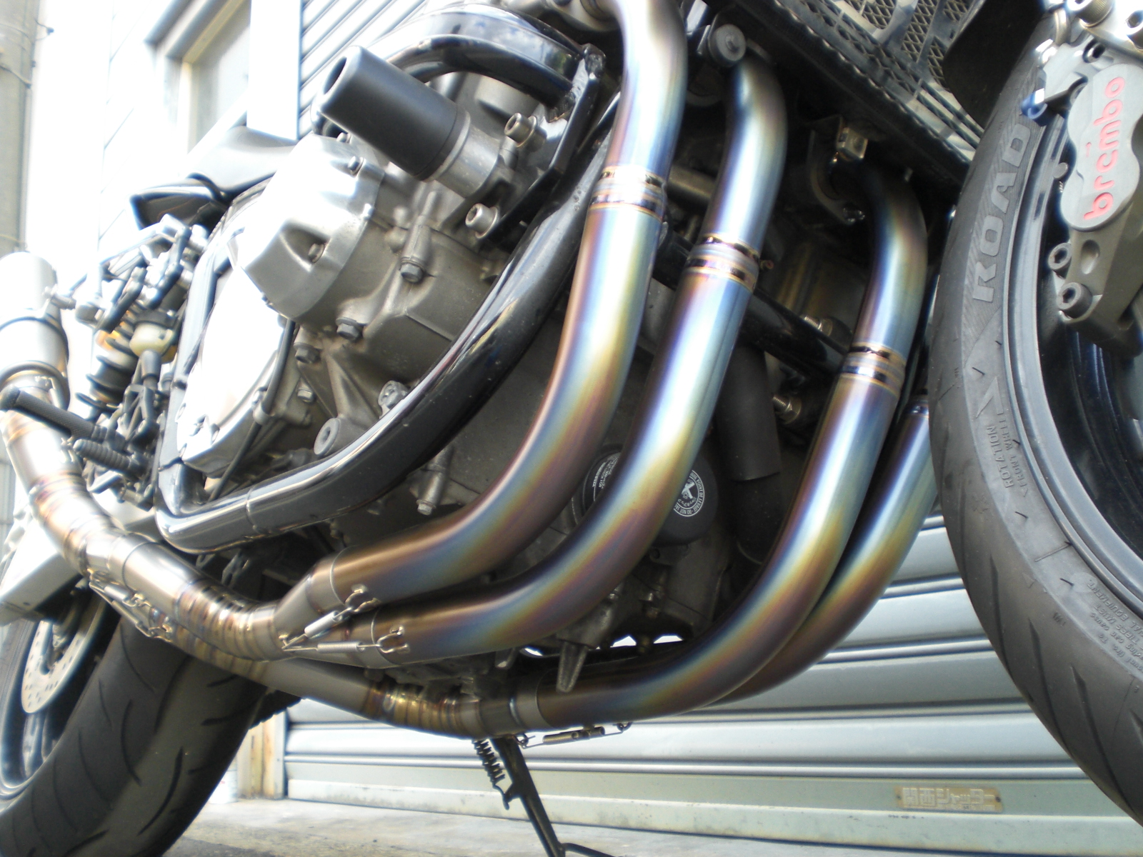 CB1300SF フルチタンEX 4-2-1 レーシングスペック