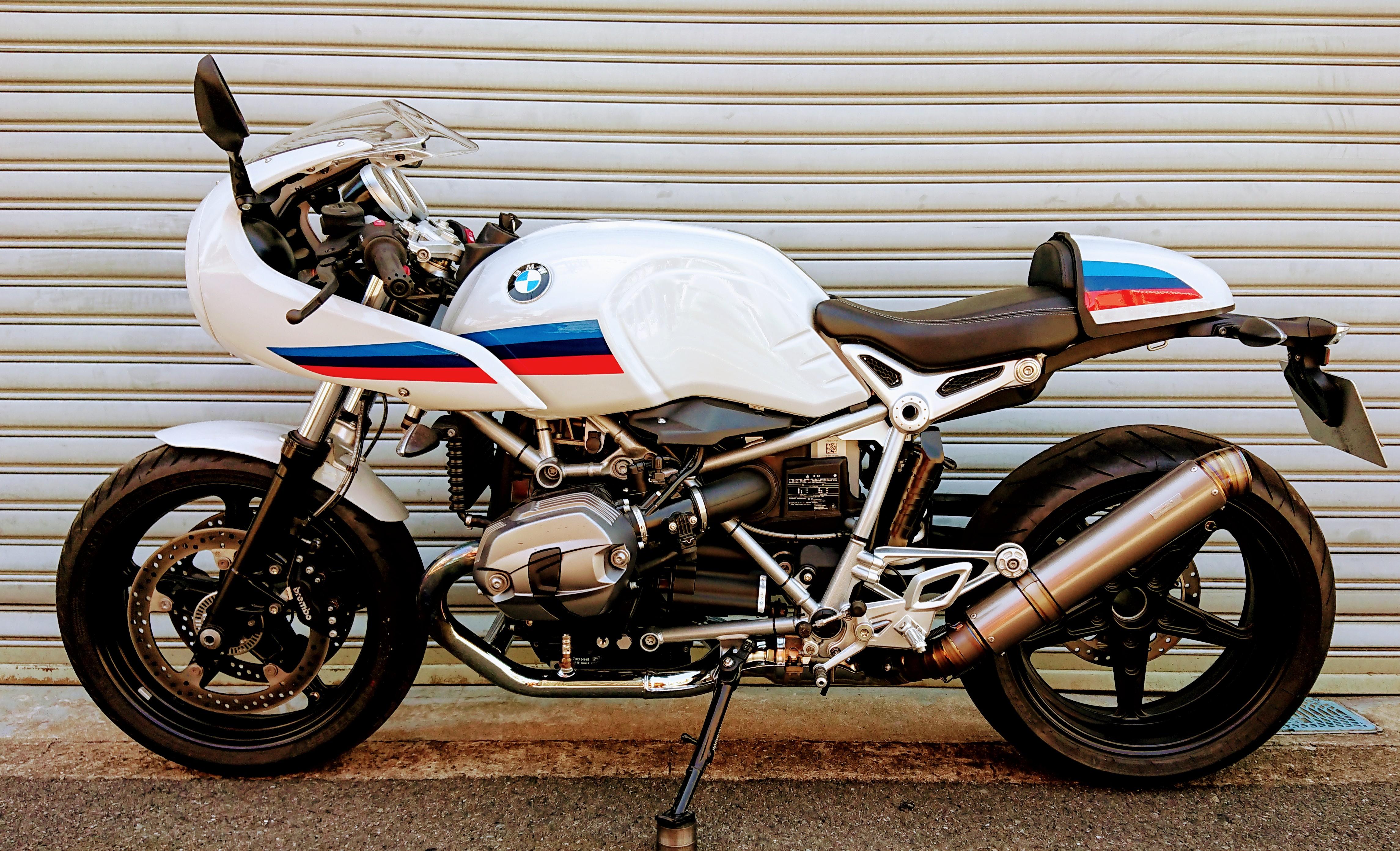 BMW R nine T GPフォーミュラフルチタンスリップオン