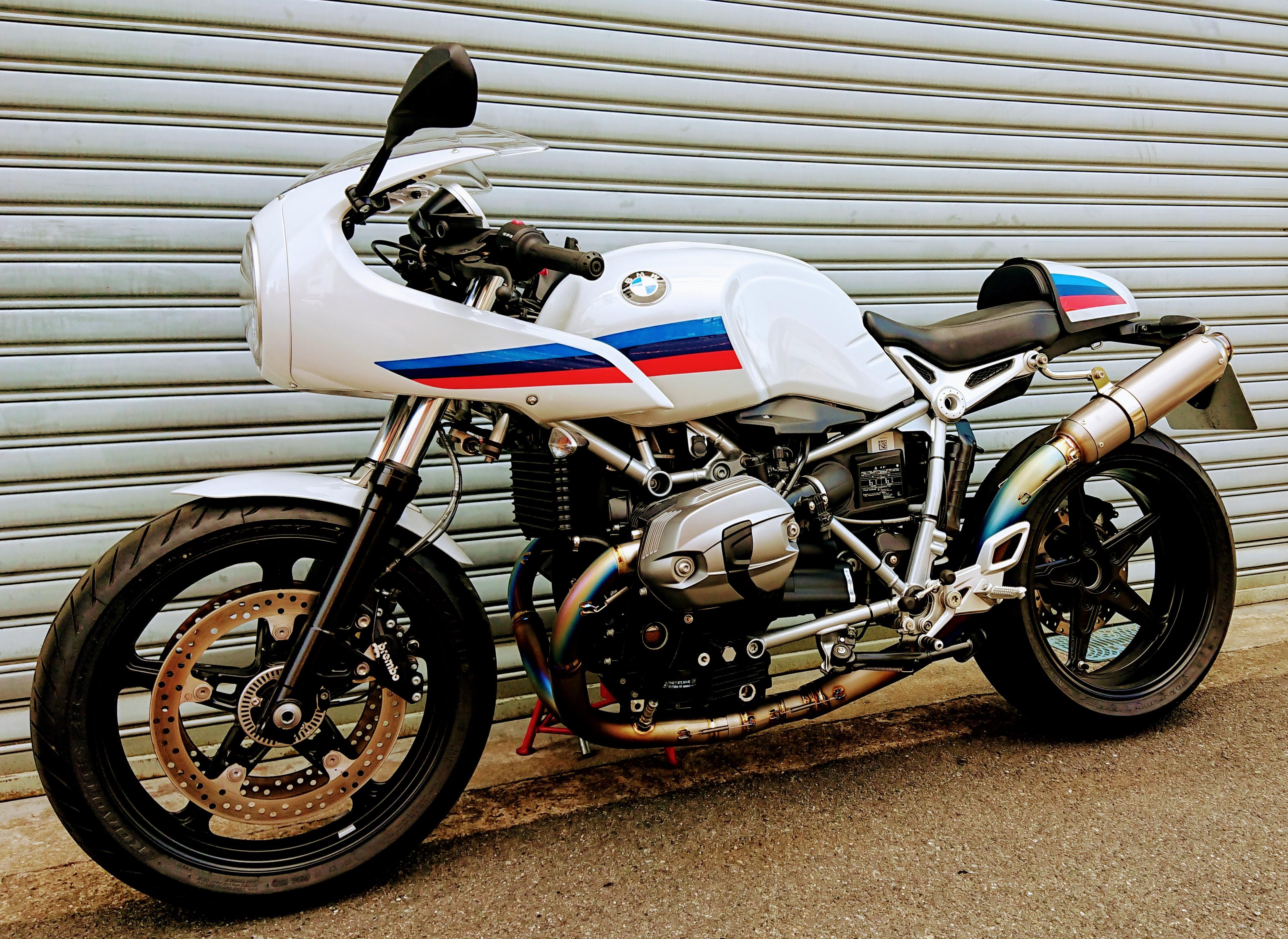 BMW R nine T フルチタンEX レーシングスペック 100Φレーシングサイレンサー仕様